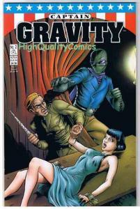 CAPTAIN GRAVITY #2, NM, Ah Puch, Nazi, Bondage, 1998