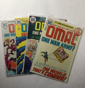 Omac 1 2 3 4 Lot Run Set Near Mint Nm Dc Comics