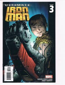 Ultimate Iron Man # 3 NM Marvel Comic Book Avengers Hulk Thor War Machine S80