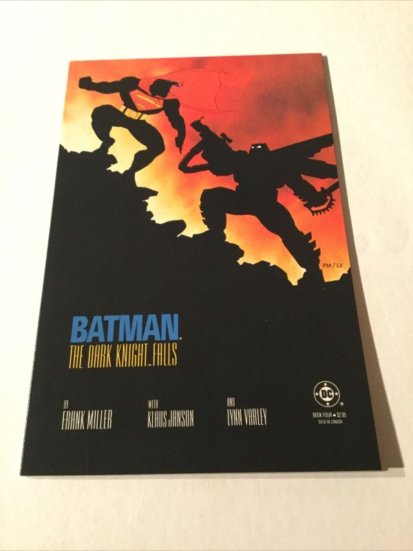 Batman Dark Knight Falls Book 4 Nm Near Mint DC Comics