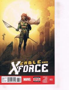 Lot Of 2 Comic Books Marvel Cable X-Force #7 and #13  ON9