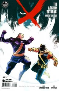 X (2nd Series) #22 FN; Dark Horse | save on shipping - details inside