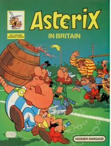 Set of three 3 Asterix Books: MAGIC CARPET, BRITAIN, MANSIONS Very Fine