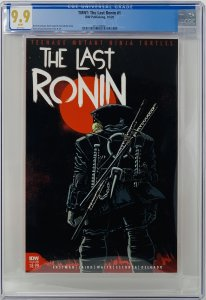 The Last Ronin #1 CGC 9.9 IDW 2020.  Eastman Cover A First Printing NOT CGC 9.8