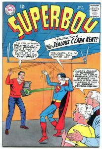 SUPERBOY #122 1965-DC COMICS---BIZARRE PUPPET COVER VG+