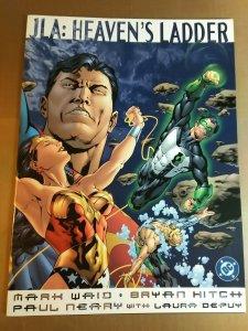 JLA: Heaven's Ladder by Mark Waid & Bryan Hitch (treasury size 2000) DC Comics