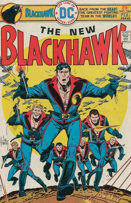 Blackhawk (1st Series) #244 FN DC - save on shipping - details inside