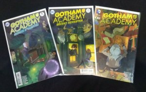 Gotham Academy: Second Semester FULL RUN #1, 2, 3, 4, 5, 6, 7, 8, 9, 10, 11, 12