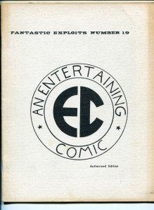FANTASTIC EXPLOITS #19 1960'S-SFCA-EC COMICS TRIBUTE-WALLY WOOD-AL WILLIAMSON-FN