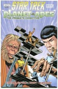 STAR TREK PLANET of the APES #5, NM, Damn Dirty Apes, 2014, IDW, more in store