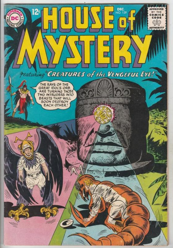 House of Mystery #139 (Dec-63) FN/VF+ High-Grade