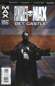 Punisher Max: Get Castle #1 VF/NM; Marvel | save on shipping - details inside