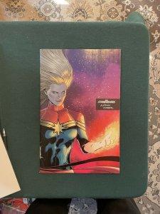 Captain Marvel 11th Series #25 Stormbreakers Juan Cabal variant cover (2019 Marv