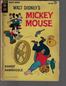 Mickey Mouse #85 (Gold Key, 1962) G-