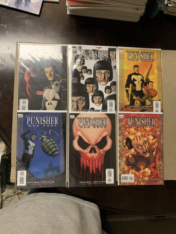 Punisher War Zone Complete Limited Series Marvel Knight