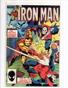 Marvel Comics Iron Man #188 Brothers Grimm Denny O'Neil Story