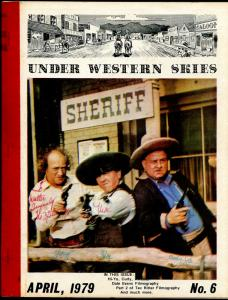 Under Western Skies #6 4/1979-Three Stooges-Tex Ritter-Dale Evans-B-Westerns-F