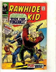 Rawhide Kid # 65 VG/FN Marvel Comic Book Western Cowboy Desperadoes GK3
