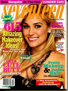 Seventeen 10/2007-Lauren Conrad-get a cute butt-615 makeover ideas-FN/VF