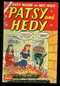 PATSY AND HEDY #24 1954 ATLAS COMICS VG/FN