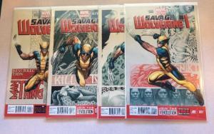 Savage Wolverine 1-4 Marvel Now Cho Keith