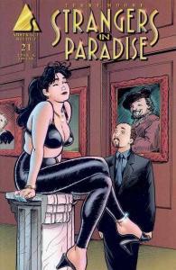 Strangers in Paradise (1996 series) #21, NM (Stock photo)