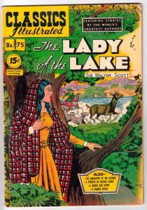 Classics Illustrated #75 (Jul-51) VF High-Grade