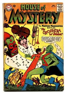 HOUSE OF MYSTERY #147-MANHUNTER FROM MARS-DC VG+