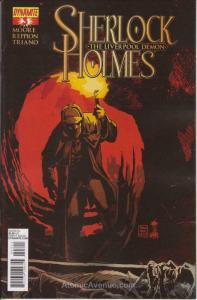 Sherlock Holmes: The Liverpool Demon #3 VF/NM; Dynamite | save on shipping - det