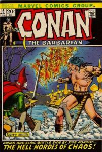 Conan the Barbarian (1970 series) #15, VG+ (Stock photo)