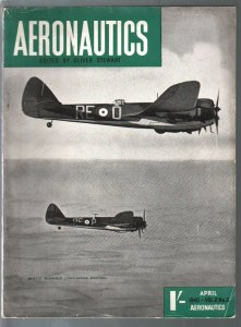 Aeronautics 4/1940-WWII-RAF-Bristol Fighters-aviation pix & info-British pub-FN
