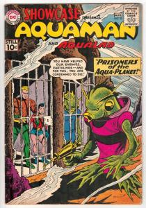 Showcase #33 (Aug-61) VG+ Affordable-Grade Aquman, Aqualad
