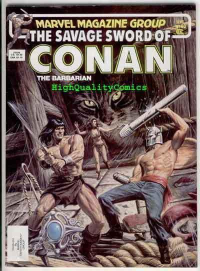 SAVAGE SWORD of CONAN #92, VF-, Ernie Chan, Buscema, more SSOC in store