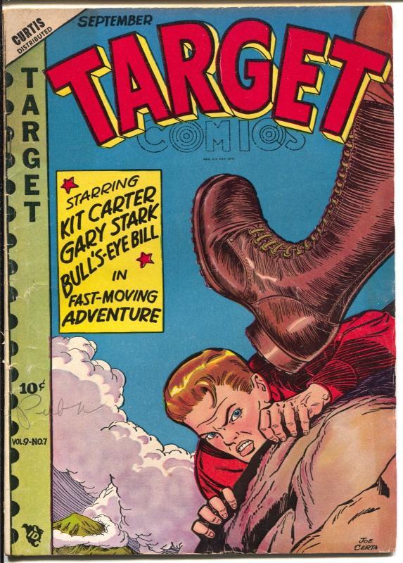 Target Vol. 9 #7 1948-Joe Certa-Chameleon-Cadet-Gary Stark-Don Rico-VG