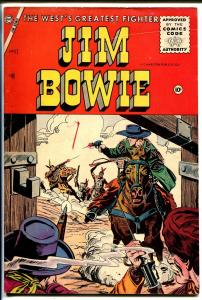 Jim Bowie #17 1956-Charlton-Indian fight stories-G+