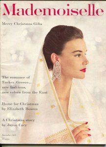 Mademoiselle 12/1955-magazine for smart young women-fashion-Christmas gifts i...
