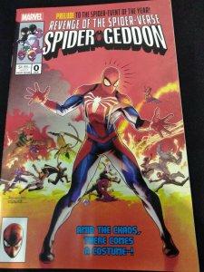 Spider-Geddon #0 Jamal Campbell Variant Cover Swipe - Secret Wars #8 Homage NM