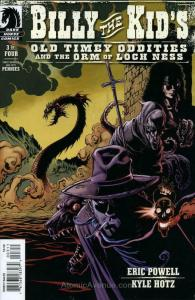 Billy the Kid's Old Timey Oddities and the Orm of Loch Ness #3 FN; Dark Horse |