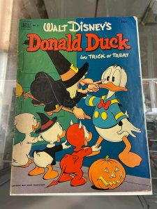 Donald Duck 26 VG-  Trick or Treat Carl Barks