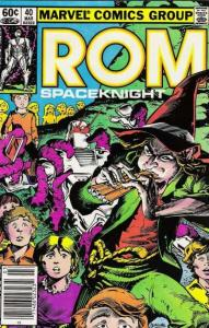 Rom (1979 series) #40, VF (Stock photo)