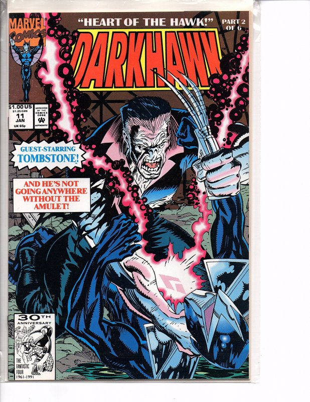 Marvel Comics Darkhawk #11 Tombstone NM