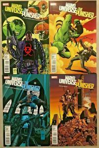 MARVEL UNIVERSE VS THE PUNISHER#1-4 NM LOT 2010 MARVEL COMICS