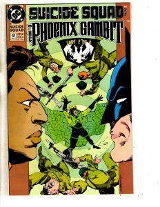 7 Suicide Squad DC Comic Books # 41 42 43 44 45 46 47 Deadshot Bronze Tigr CR22