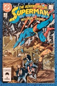 Adventures of Superman #434 (DC, 1987) NM 9.2 Wolfman, Ordway 1st app Gangbuster