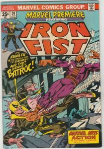 Marvel Premier #20 (Oct-74) VF High-Grade Iron Fist