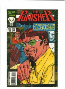 Punisher: Origin of Microchip #2 VF 8.0 Marvel Comics 1993