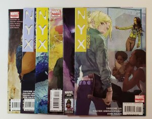 NYX: No Way Home  #1-6 Complete Set Marvel Comics 2008 VF/NM Or Better