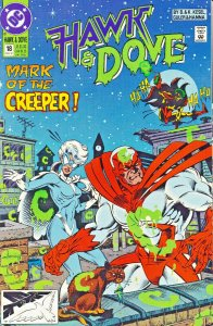 DC Comics! Hawk and Dove! Issue 18!