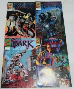 DARK (1990 CONTINUM) 1-4  #3 SIGNED !