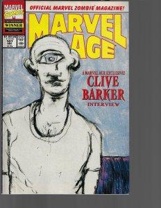 Marvel Age #107 (Marvel, 1991)